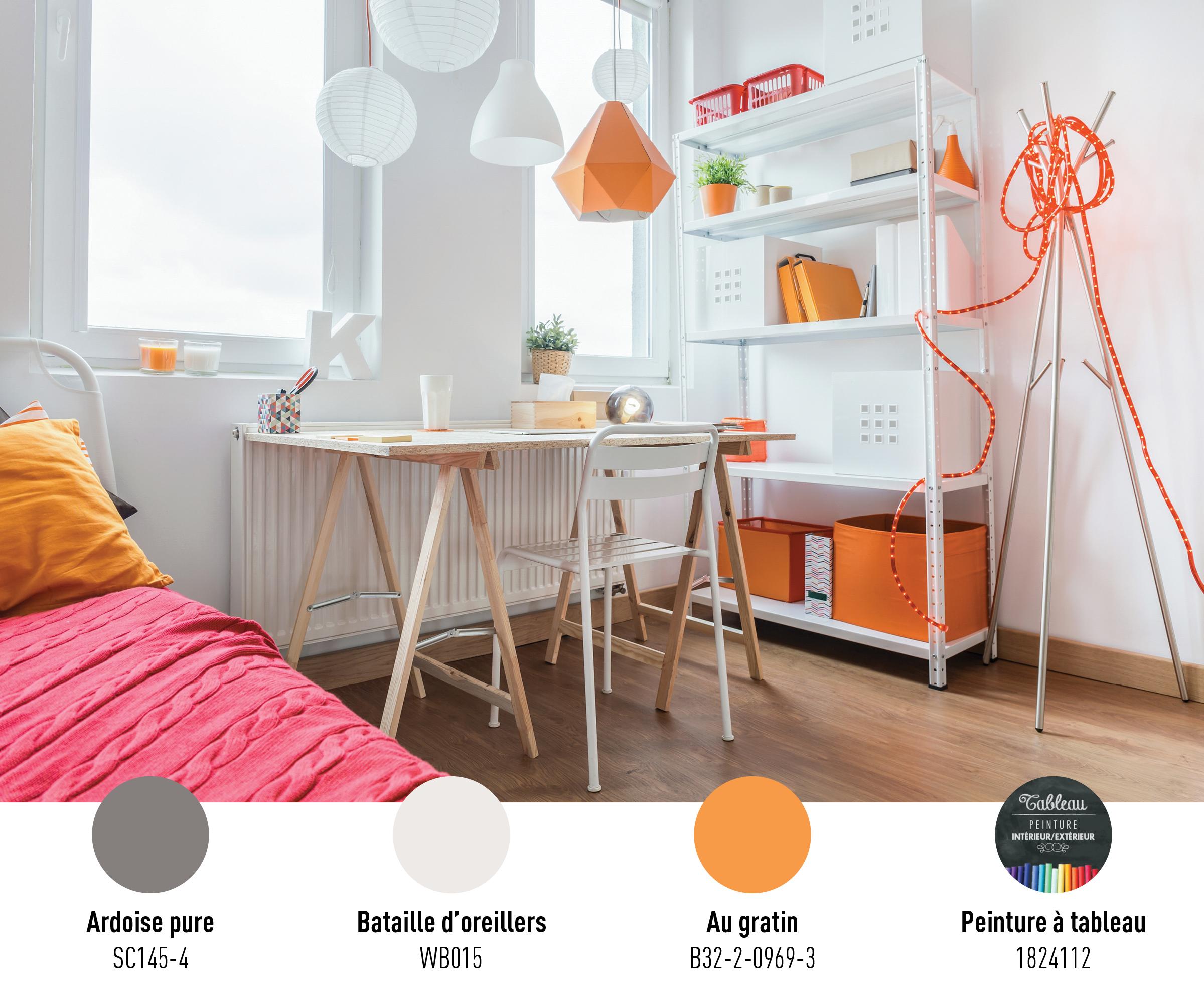 Refuge personnalis pour l ado univers de couleurs par beauti tone - Recouvrir armoire melamine ...