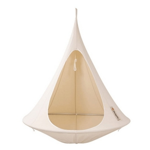 Hamac double suspendu Cacoon, blanc naturel CACOON Article #6335-181 Modèle # DW1