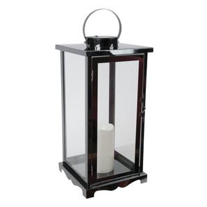 Lanterne de table solaire Nottinghill, 17,25 po FUSION Article #3640-447 Modèle # 20293